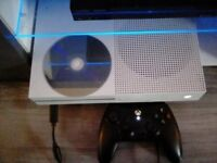 Xbox one s with fifa 18, call of duty ghosts anf one controller £140