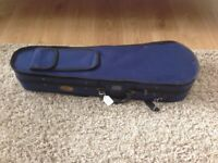 Half size violin case (Stentor) - blue