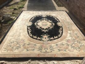 INDIAN IMPERIAL JEWEL RUG X 2