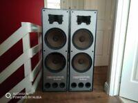 "Used 98"" Floor Terminator Floor Speakers"
