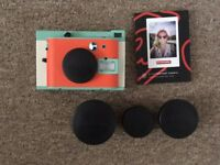 Lomography Lomo Instant Camera Kickstarter Edition with 3 Lenses