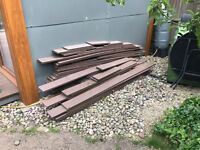 FREE brown composite decking (approx 3x4m)