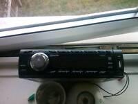Cd car stereo usb