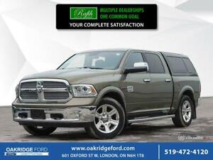2015 Ram 1500 4WD Crew CAB 140.5- Navigation- Leather- Moonroof-