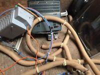 Caravan heating duct