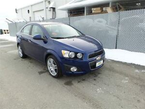 2012 Chevrolet Sonic LT - Heated Seats & Sunroof - Low KMS!