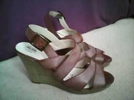 Debenhams Wedge Sandals size 7UK