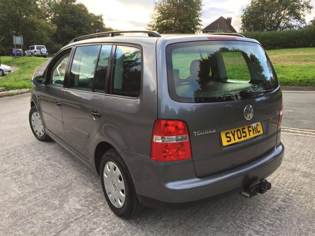 2005 VOLKSWAGEN TOURAN S TDI 105 BHP 6 SPEED MPV 7 SEATS.