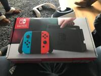 Nintendo switch and games new