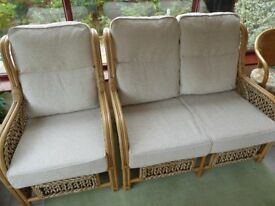 Conservatory Furniture 3 Piece Suite