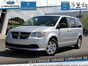 2012 Dodge Grand Caravan SE*STOW N'GO*7 PLACES*DVD*CAMERA*A/C 3