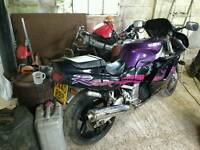Motorcycle Bike Gsxr750w for sale.