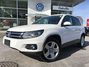 2013 Volkswagen Tiguan CL/AWD/NAV/BK-UP CAM/SUNROOF/1 OWNER!