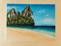Acrylic paint handmade