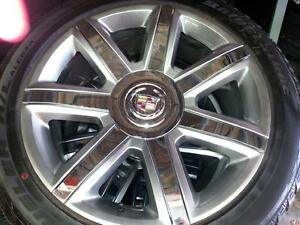 "Cadillac Escalade 22"" wheels and tires OEM new"