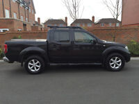 2006 06 - NISSAN NAVARA 2.5 DCI AVENTURA SPEC DOUBLE CAB IN BLACK