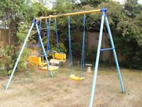 Kettler swing and gondola. Takes 3 children together. Very strong quality make. Bargain.