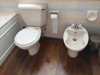 Bathroom suite - Ideal Standard Whisper Peach