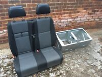 VW Crafter Front passenger bench seat