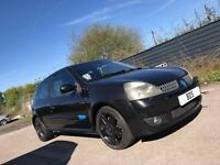 Breaking Black Renault Clio Sport 172 / 182 for Parts - Bodykit Alloy Wheels Interior Spares Repairs