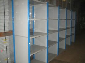 25 bays DEXION impex industrial shelving 2.6M high( storage , pallet racking )