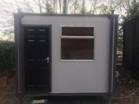 Portacabin/office tidy with felt roof and fully loaded