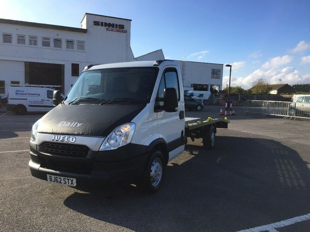 40ab498d4e266e 2012 Iveco Daily Recovery Truck Car Transporter Brand New 16 Ft Body    Winch Fitted