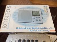 Roberts Radio portable model R983 - brand new