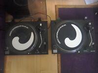 Citronic turntables pd1s mk3 decks