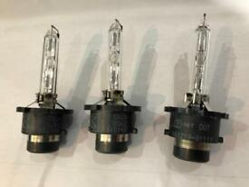 Xenon Bulbs D2S x3 half price