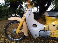 Honda C70, one owner, totally unmolested collectors piece.
