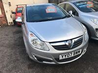 Vauxhall Corsa 1.0 i 12v - 2007, 3 Owners, November 2017 MOT, Service History, x2 Keys, Drives Great