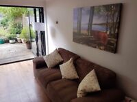 Two super comfy 4 sitter sofas for sale