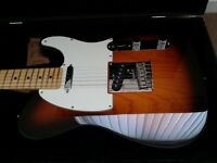 100% NEW - USA FENDER TELECASTER - Mint, Fender USA PRO case included, Tags, proof of purchase.