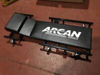 Arcan professional gargae car creeper - LIKE NEW - cost £50