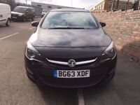 2013/63 REG VAUXHALL ASTRA 1.7 CDTI TECH-LINE FULLY LOADED CAR 3 MONTH WARRANTY £6250