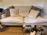 FREE Cream Designer Sofa - NEEDS TO GO ASAP!