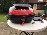 givi simply e450 monolock top case plus rack mount