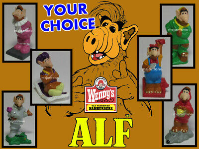 Wendy's 1990 ALF TALES Melmac FAIRY TALE Storybook TV Alien YOUR TOY CHOICE