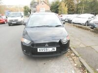 MITSUBISHI COLT CZ2 5 DOOR HATCHBACK 1.3CC COMES WITH 12 MONTHS MOT DRIVES VERY NICE ...