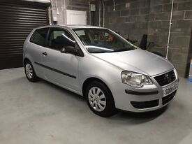 2008 Facelift VW Polo 1.2 E 3 Door, 1 Year MOT, Only 76k Miles, FSH, Valeted, Immaculate
