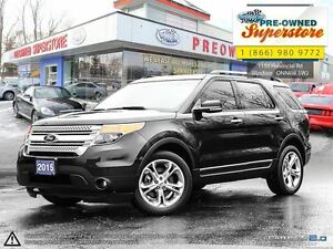 2015 Ford Explorer XLT ***WOW***