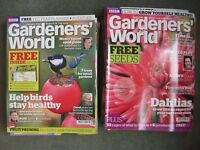 Lot of 17 Issues of BBC Gardeners' World Magazine 2011 to 2012 gardening, plants - NEEDS TO GO ASAP!