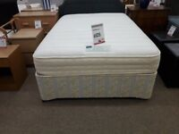 Rest Assured Pocket Memory Ortho Double Bed and Mattress