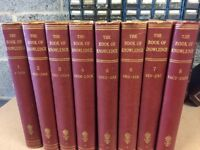 A set of 8 Books of Knowledge