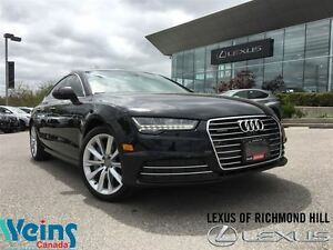2016 Audi A7 3.0T TECHNIK/1 OWNER/17 KMS