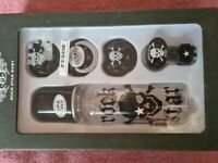Baby gift set Rock star bottle and dummies