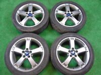 "FORD FOCUS TITANIUM X SPORT ST, MONDEO, S-MAX, TRANSIT CONNECT 17"" ALLOY WHEELS GREY"