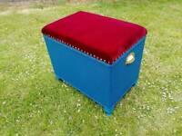 Lloyd Loom Blanket Box