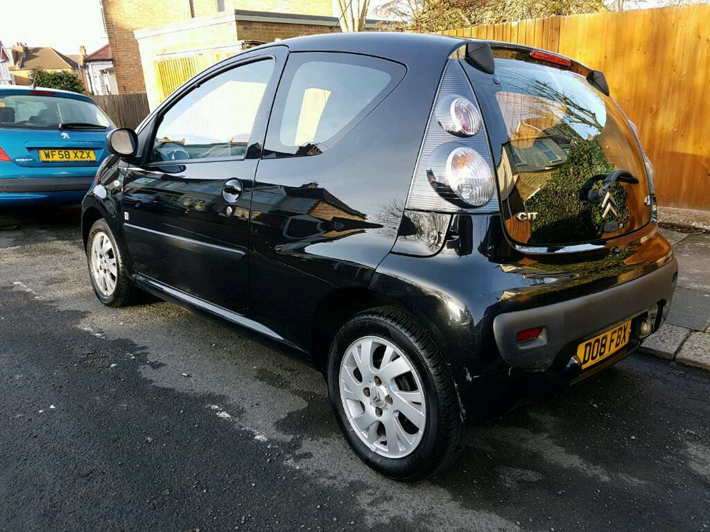 2008 citroen c1 code 1 0 69 000 miles swade and leather interior drives great 20 road. Black Bedroom Furniture Sets. Home Design Ideas